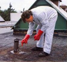 hydroizolácie plochých striech - zalievacia technológia SA-12