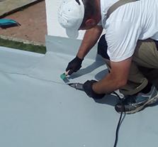 hydorizolácie plochých striech - fólie PVC